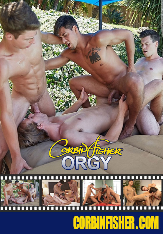 Corbin Fisher Orgy Cover Front